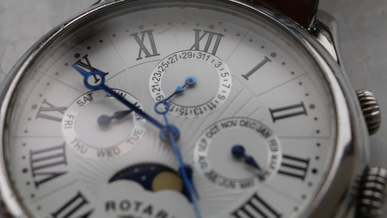 Close-up Shot Of Wristwatch