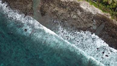Waves Crashing To the Shore
