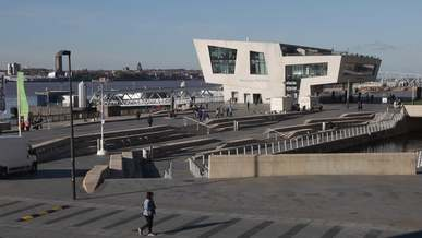 Ferry Port In Mersey