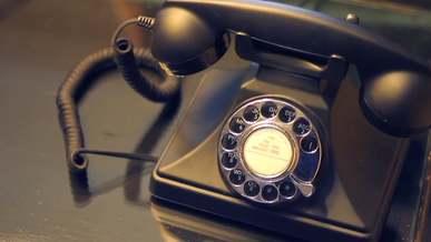 A Ringing Vintage Telephone