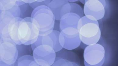 Abstract Blue Bokeh Flicker