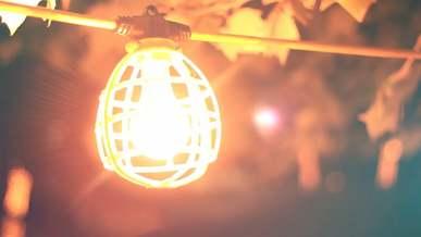 Swinging Light Bulb
