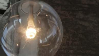 Swinging Lamp On The Ceil