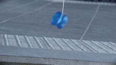 Playing Yo-Yo on the Street