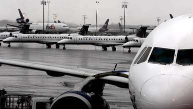 Planes on an Airport