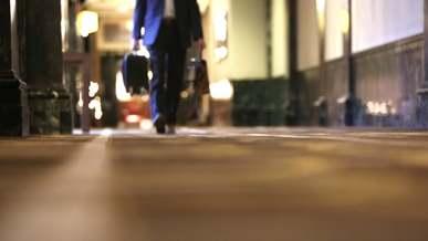 Video Of Businessman Walking