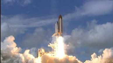 Launching Of Rocket