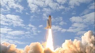 Countdown To Rocket Launching