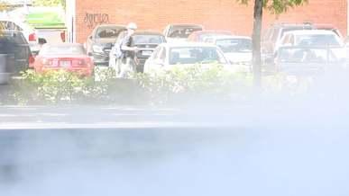Smoke Vanishing Cars