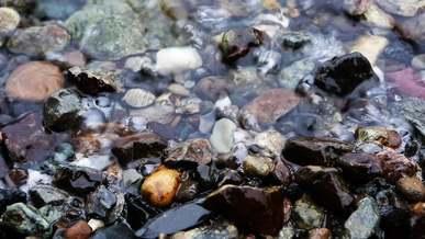 Stones, Waves, Water