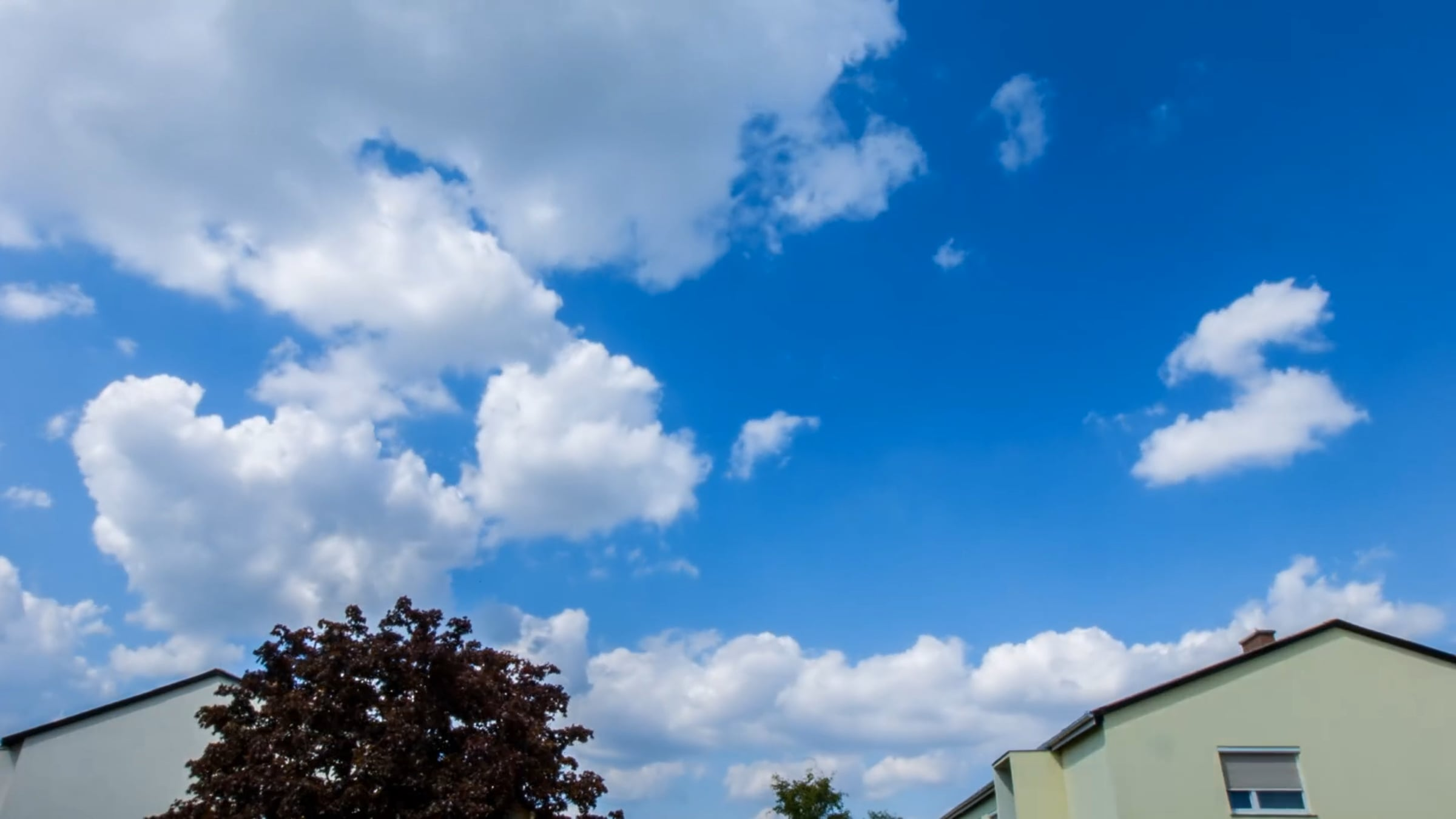 Free Stock Video Of Blue Sky Clouds Daytime